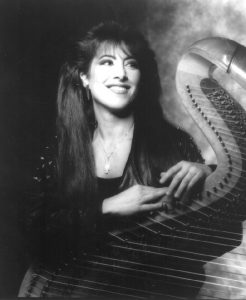 Harpist Joanna Jordan