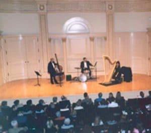 Toronto Harpist Joanna Jordan Carnegie Hall New York