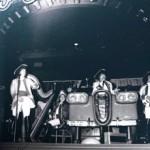 Toronto Harpist Joanna Jordan playing for Paul Revere & the Raiders